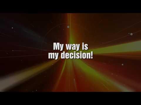 Tina Maze - My Way Is My Decision (Original Karaoke Lyrics) [HD]