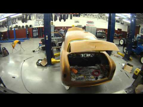 2013 Street Rodder Road Tour 1951 Ford Build Time Lapse
