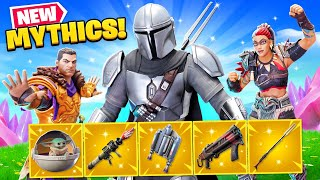 NEW *ALL* MYTHIC WEAPONS in Fortnite Season 5! (SECRET BOSSES)
