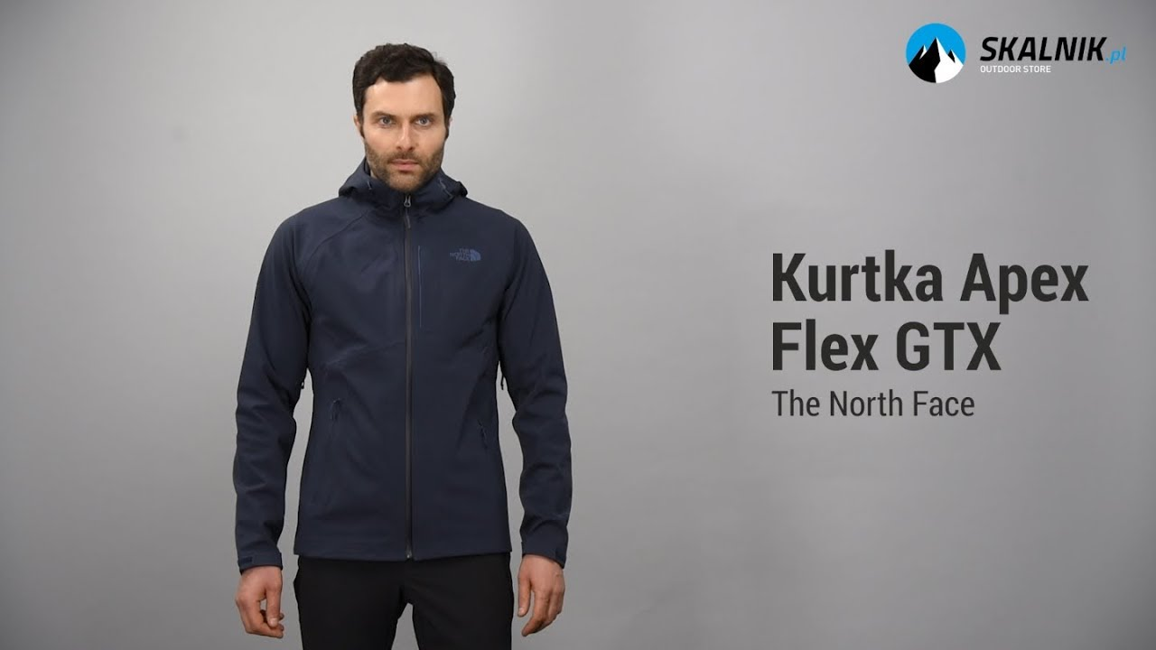 Kurtka The North Face Apex Flex GTX - skalnik.pl - YouTube 650d8d941