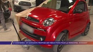 Yvelines | A Coignières, un garagiste propose des réductions pour le personnel soignant