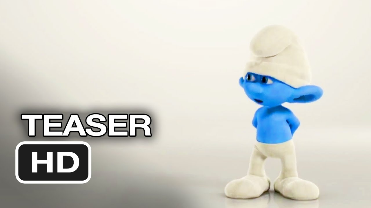 the smurfs 2 official teaser #1 (2013) - animation movie hd - youtube