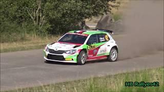 ADAC deutschland Rallye 2018 ( crash and show) [HD] By HB Rallyes42