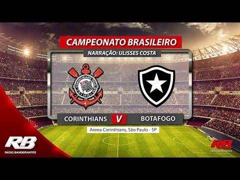 Campeonato Brasileiro - Corinthians X Botafogo - 17/08/2019 - AO VIVO