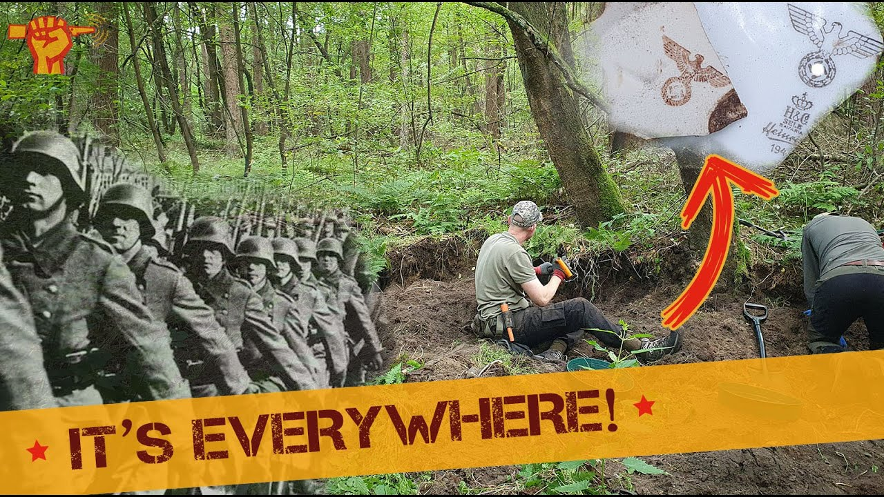 Download Abandoned Wehrmacht Barracks full of WW2 treasures
