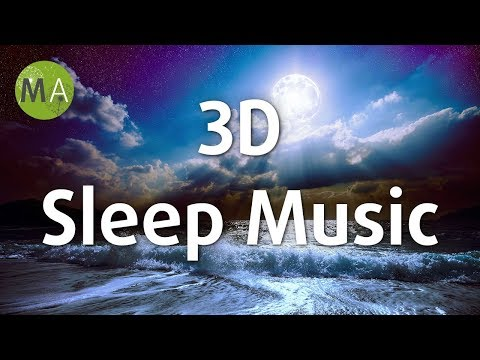 3D Sleep Music with Rocking Effect, Sleep Music Meditation, Deep Sleep Music ☾997