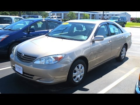 2004 Toyota Camry LE Tour