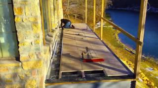 mbrico tile deck install timelapse