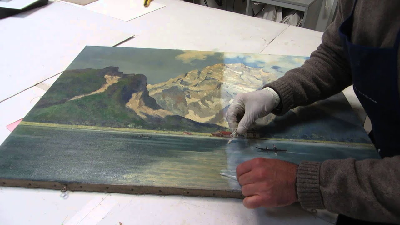 Restaurierung Köln restaurierung köln ölgemäldereinigung watzmann königsee wehr pulheim