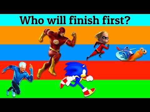 Sonic vs. Flash vs. Quicksilver vs. Dash vs. Turbo