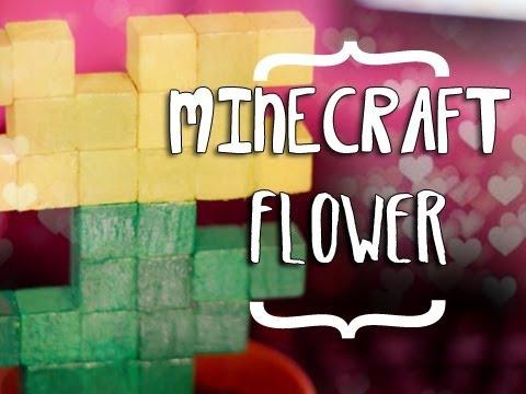 Minecraft Potted Dandelion - DIY ( Wooden Arcade Inspired )