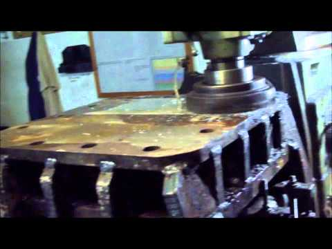 Shannon Engineering Malta refacing a Hydraulic Support Block.wmv