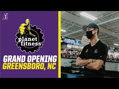 @Planet Fitness Grand Opening in Greensboro, NC with Joey Logano
