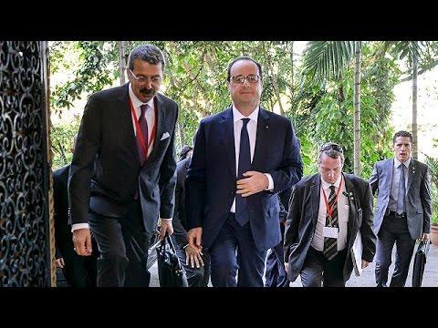 Cuba: 'a major player in the 21st century,' declares François Hollande