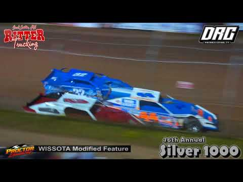 Proctor Speedway 8/30/18 WISSOTA Modified Final Laps