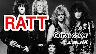 RATT  Round & Round  guitar cover