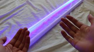 Saber Scroll Develops Tri-Guard Retractable Lightsaber (New Saber Technology)
