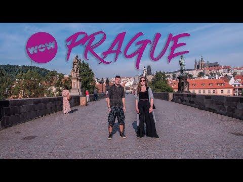 WOW Air Travel Guide Application - Ahoi, Prague!