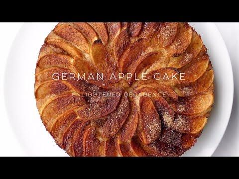 German Apple Cake (vegan) | The Simple Green