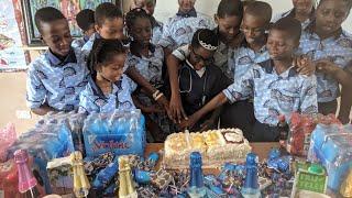 DJ Switch Ghana Celebrate Her 11th Birthday With School And International Media