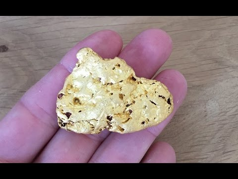 3.8oz MONSTER GOLD NUGGET Metal Detecting VIC with GPZ7000.
