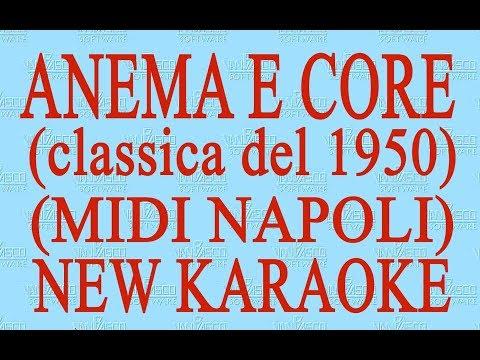 Anema e core - midi Napoli - New Karaoke