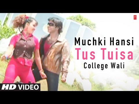 Muchki Hansi Tus Tuisa College Wali - Bengali Hit Video Song Paritosh