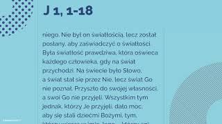 #Ewangelia | 25 grudnia 2018 | Msza w dzień | (J 1, 1-18)