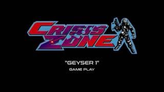 "Namco Crisis Zone - ""Geyser 1"" Game Play (Projected)"