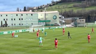 06/03/2016 CFA 2 : ASSE - Besançon 3-0 ( Penalty de Pierre-Yves Polomat)