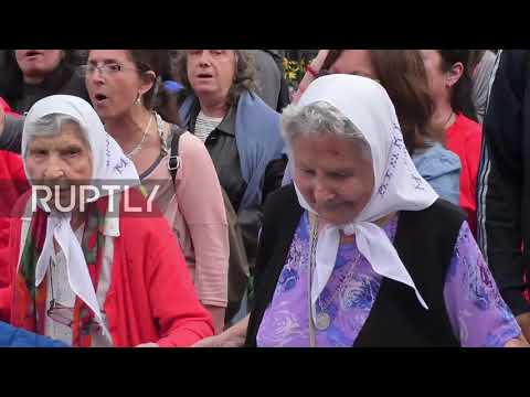 Argentina: Mothers of Plaza de Mayo hold anti-G20 march in Buenos Aires
