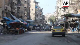 Syrians in Aleppo sceptical of truce