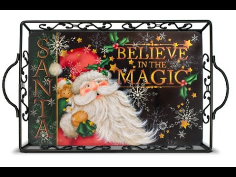 Believe In The Magic Tole and Decorative Painting by Patricia Rawlinson