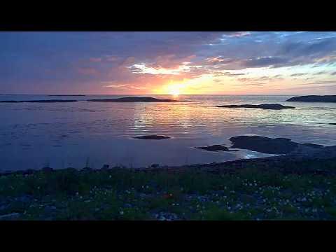 Vill natur fra ei øy utenfor Smøla