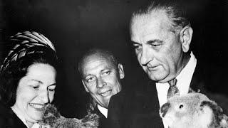 President Lyndon B. Johnson Visits Brisbane in 1966 (No Audio)