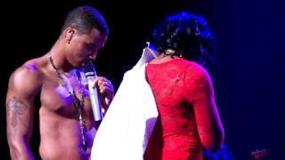 Trey Songz with Fan Anticipation 2our in Chicago thumbnail