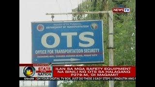 SONA: Ilan sa mga security equipment na binili ng OTS sa halagang P279-M, 'di magamit