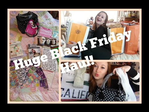 Black Friday Haul 2014! Makeup, Clothes, Planner Supplies, Shoes & more
