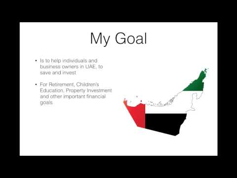 Financial Planning in Dubai - Video Blog Introduction