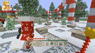 Minecraft XBOX | Murder Mystery | Santa's Workshop #2 // My worst rounds ever...