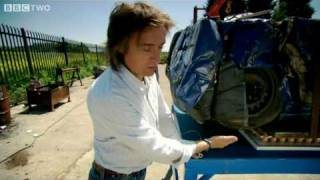 Eggs strong enough to hold a car! - Richard Hammond's Engineering Connections - BBC Two