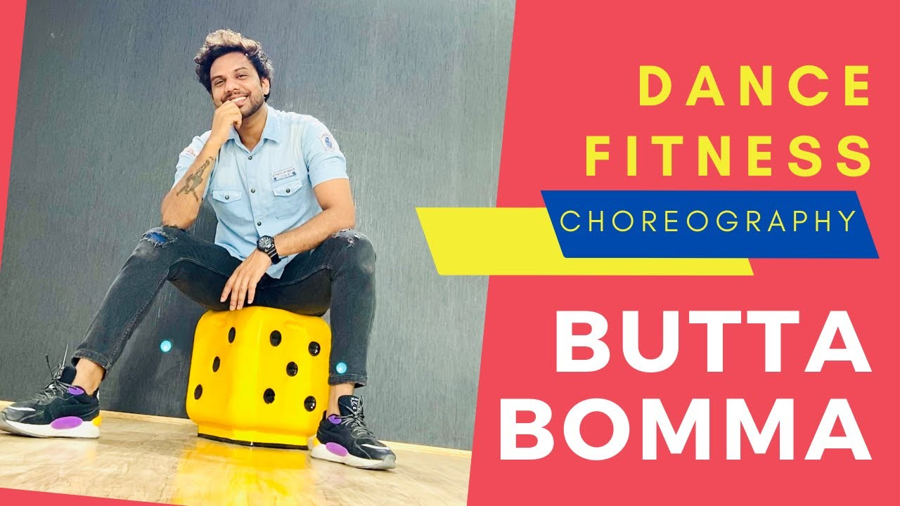 ButtaBomma | #AlaVaikunthapurramuloo | Butta Bomma Dance Cover Fitness | FITNESS DANCE With RAHUL