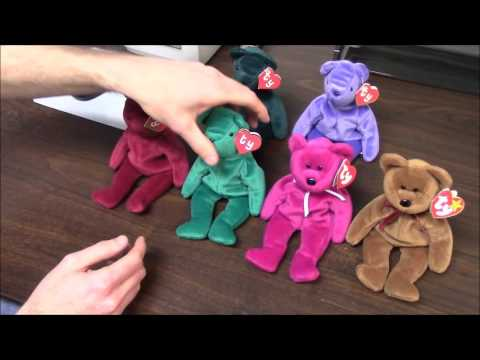 2fe2a4e7138 How to Tell Tag Generations for TY Beanie Babies (1st