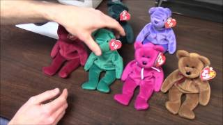 How to Tell Tag Generations for TY Beanie Babies (1st, 2nd, 3rd & 4th Gen Hang Tags) BBToyStore.com