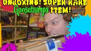 Unboxing! Super Rare Goosebumps Item!