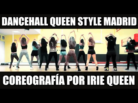Dancehall Queen Style Class Madrid With Irie Queen @DhqIrie- Money Pull Up