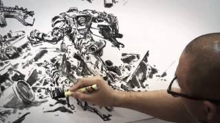 김정기 Kim Jung gi Drawing show in Malaysia
