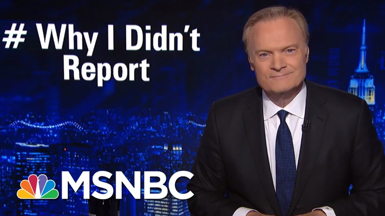 #WhyIDidntReport: Victims Answer President Donald Trump | The Last Word | MSNBC