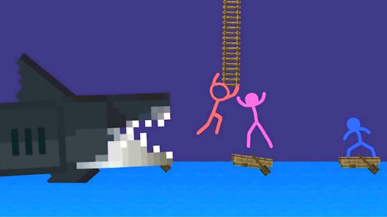 Stranded on an Island - Animation vs. Minecraft shorts (FAN MADE)