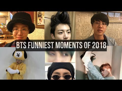 BTS Funniest Moments in 2018